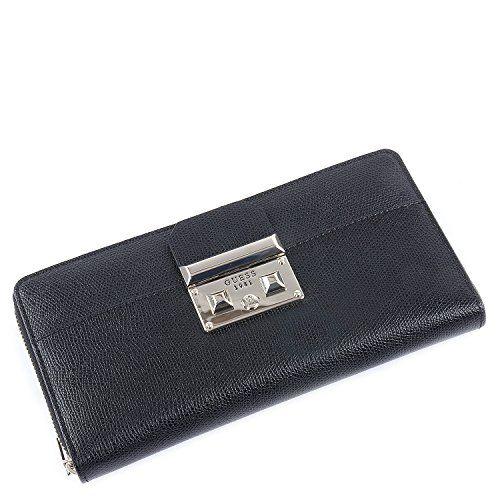 Collections de sacs GUESS à prix imbattables!! - GUESS Portefeuille femme MARTINE Noir 21x11x03 cm Guess https://www.amazon.fr/dp/B06XVRLYGG/ref=cm_sw_r_pi_dp_x_hvrozbHA3KZH8