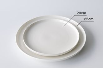 "cds-r | Rakuten Global Market: ""Domestic regular store"" marimekko marimekko OIVA plate small size 20cm/ white"