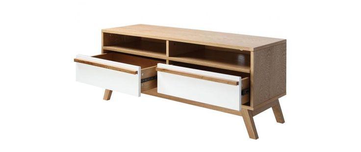 Meuble TV design scandinave HELIA - Miliboo