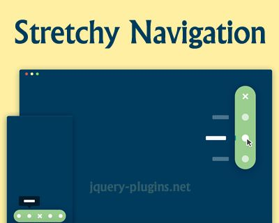 Stretchy Navigation with CSS and jQuery