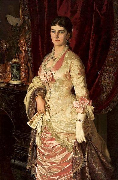 Portrait of a Lady | Bolesław Łaszczyński (1882)