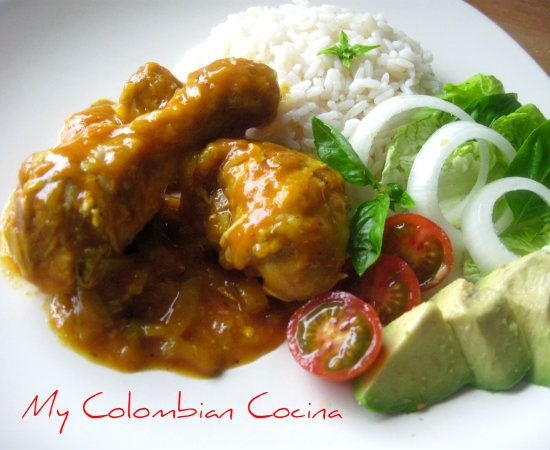 My Colombian Cocina - Pollo en Salsa de Coco