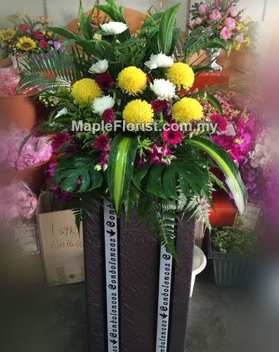 Know that you are in our thoughts and prayers:Collection of sympathy Flowers to express your deepest condolences to the departed, Order Online For Fast Flower Delivery to Malaysia.