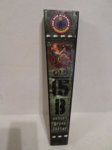 Rare-New-Albanian-Brewing-Red-Head-Bombshell-Old-15-B-Beer-Keg-Tap-Handle-Knob