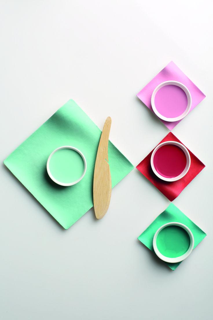 Pots of colour from Plascon's Prism palette. Plascon Colour Forecast 2017.