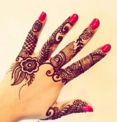 Interesting Strip Mehndi Designs middle finger | 1000+ images about mehendi on Pinterest | Mehndi, Henna and Henna ...