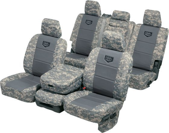 Cabela's Tactical Seat Cover With Pockets By Ruff Tuff : Cabela's