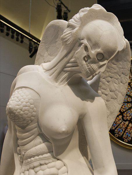 Anatomy of an Angel - Damien Hirst | detail
