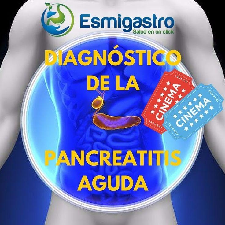 ¿Cómo se diagnostica la pancreatitis aguda?