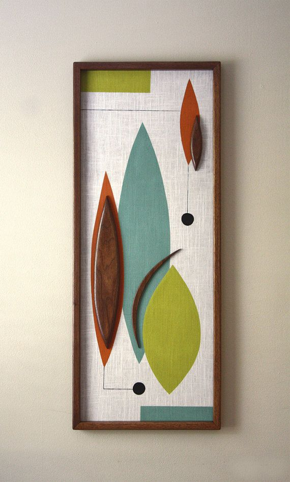 Mid Century / Danish Modern WITCO Styled Wall Art - Nonnie