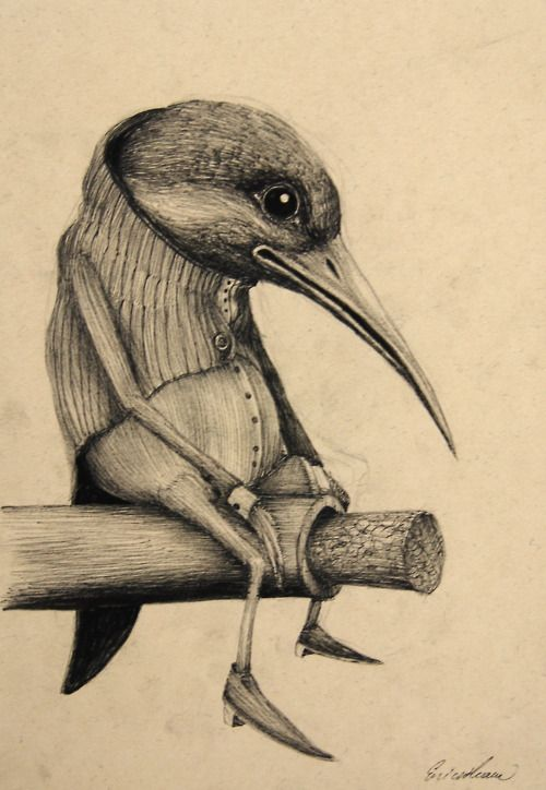 Vengeful Animal Illustrations: Nature Gets Back at Humans in Ericailcane's Art…