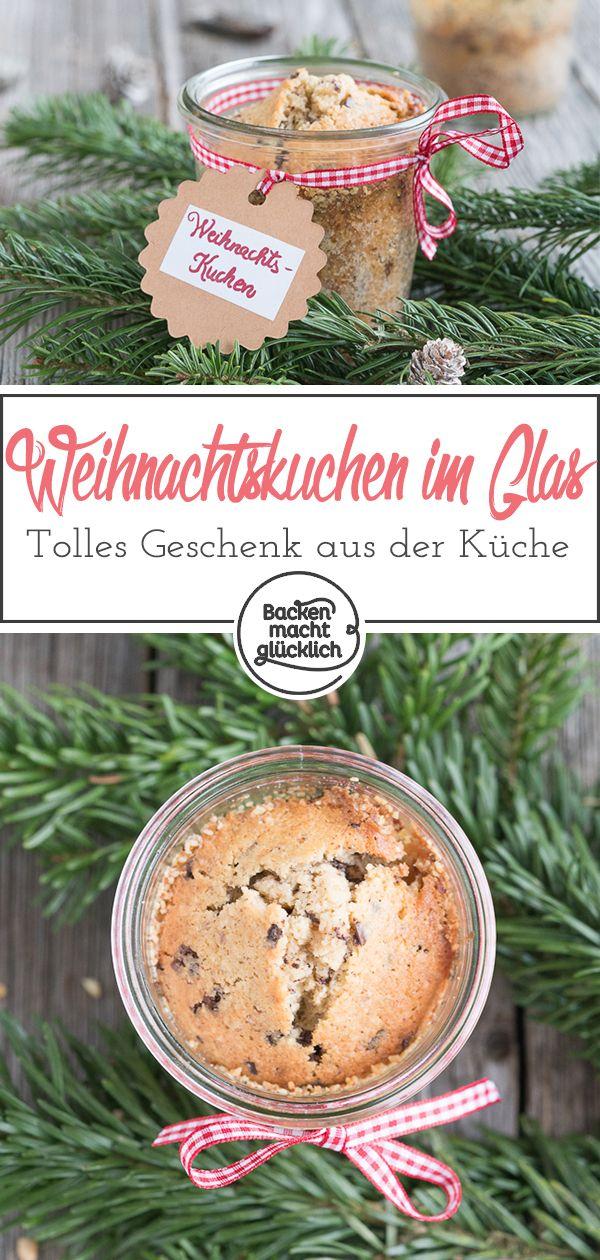Weihnachtskuchen Im Glas Rezept Glaskuchen Weihnachtskuchen Und Weihnachtsgeschenke Aus Der Kuche