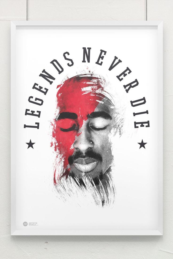 Tupac Poster www.artistikworld.com