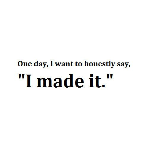 One day!