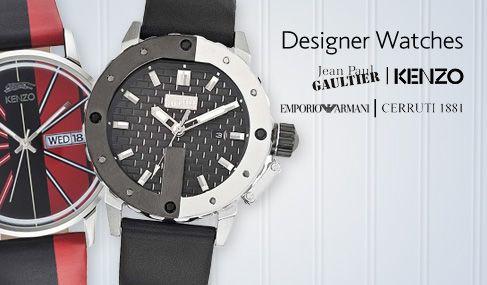 Νέα συλλογή με επώνυμα ρολόγια, Emporio Armani, Jean Paul Gaultier, Kenzo με Έκπτωση έως -60%