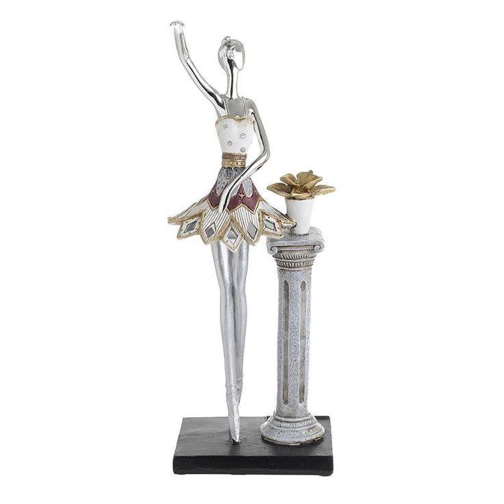 Decorative Ballerina - Sculptures - Figures - DECORATIONS - inart