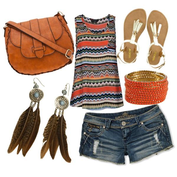 Tribal Summer! love!: Fashion Outfit, Bohemian Styles, Summer Styles, Summer Outfit, Indian Styles, Summer Fashion Beauty, Tribal Prints, Tribal Summer, Native American