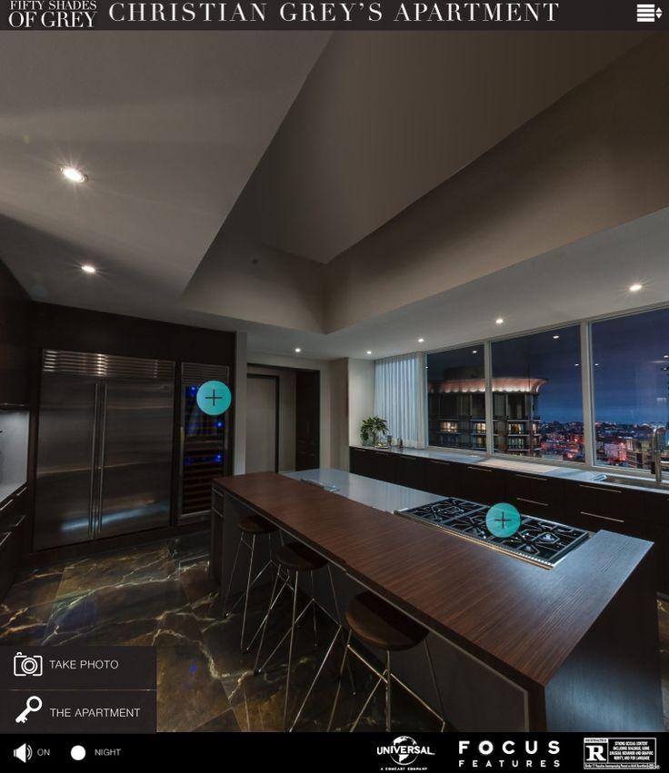 19 best christian grey 39 s apartment design images on. Black Bedroom Furniture Sets. Home Design Ideas