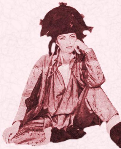 80s pirate girl