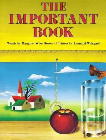 This Margaret Wise Brown book (http://www.amazon.com/gp/product/0064432270/ref=as_li_tl?ie=UTF8&camp=1789&creative=9325&creativeASIN=0064432270&linkCode=as2&tag=writi-20&linkId=2DN4VRFPHCWDM3ZN) inspired one of the monthly lessons from our 10 Writer's Notebook Bingo Cards: https://www.teacherspayteachers.com/Product/Full-Set-Writers-Notebook-Bingo-Cards-2228372 See the next three pins for student writing samples!