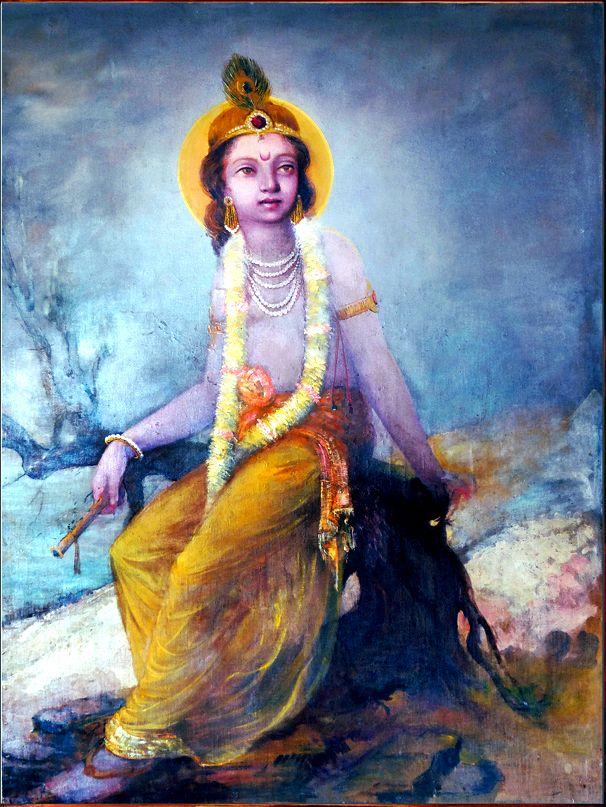 Bal Krishna - artist D.J. Joshi, 1942