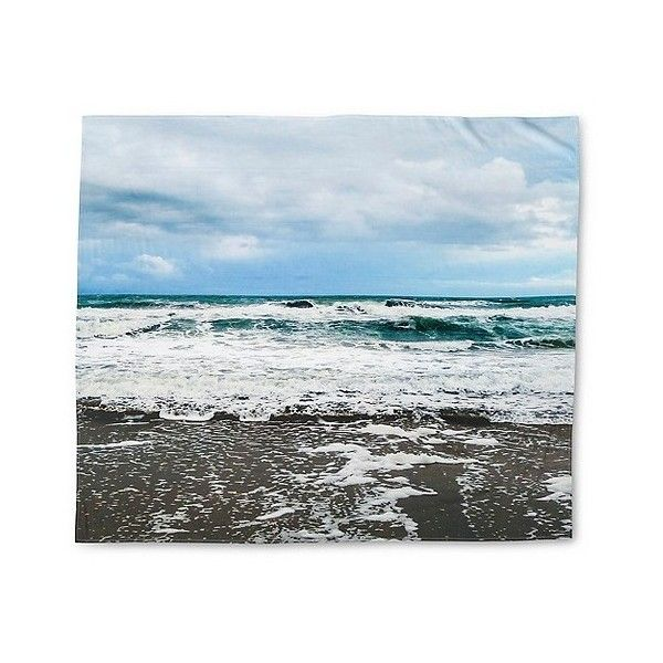 Still Mediterranean Tapestry ($30) ❤ liked on Polyvore featuring home, home decor, wall art, sky blue, ocean home decor, tapestry wall hanging, sea home decor, mediterranean home decor and tapestry wall art