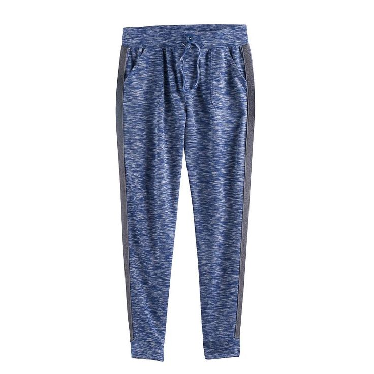 Girls 7-16 & Plus Size SO® Pocket Jogger Pants, Size: 14 1/2, Blue