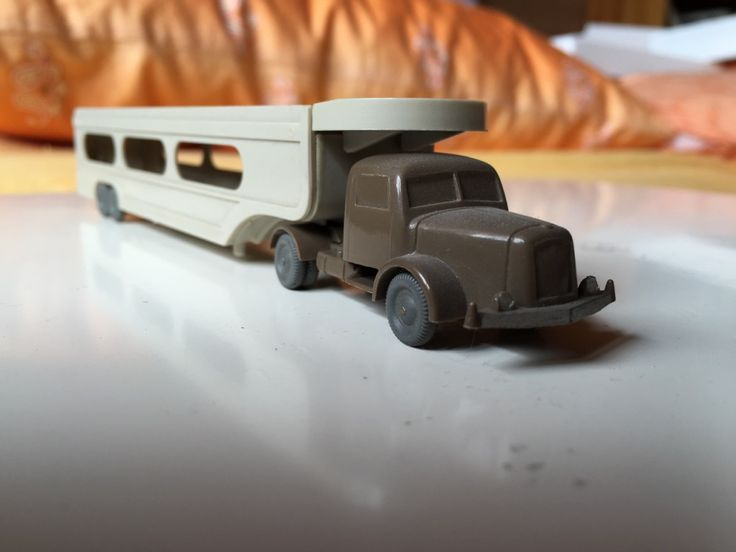 Wiking_580_Henschel_PKW-Transporter, #Wiking #Modellautos #ModelCars 1:87 #H0 #Henschel  Henschel LKW  Henschel Sattelzug alte Wiking Autos  Wiking Sammlerstücke
