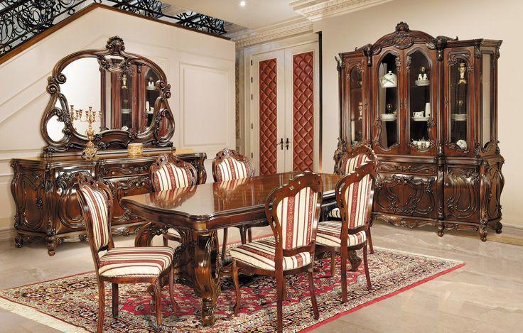 Mobila / Mobilier Sufragerie clasic masiv Nastasia