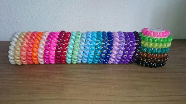 @papangaDE Die Lösung für lange Haare!  rot, blau, pink, rosa, peach, organge, weiß, braun, schokolade, lila, lavendel, grün, apfel, vanille