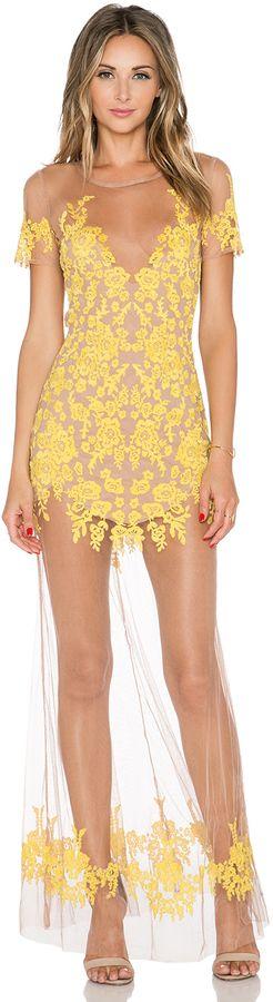 Yellow dress sale