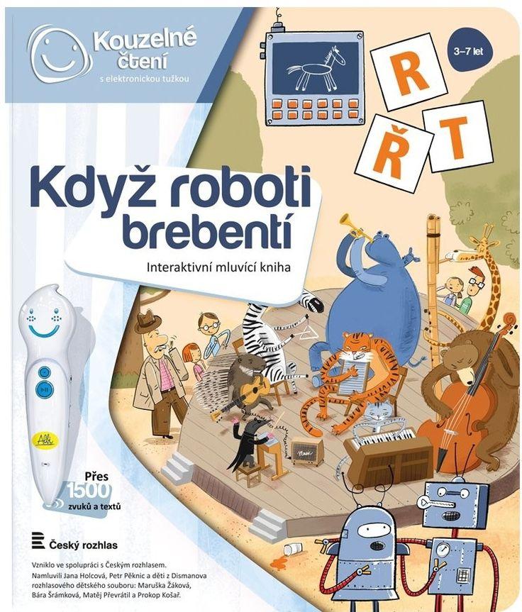 ALBI Interaktivní mluvící kniha Kouzelné čtení Když roboti brebentí - 0