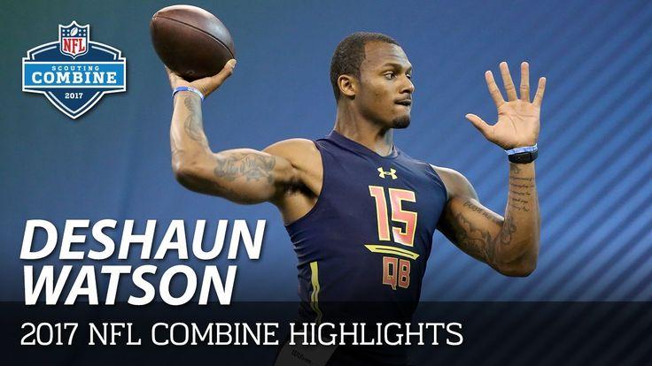 #NFL #DeShaunWatson Deshaun Watson (Clemson, QB) | 2017 NFL Combine Highlights