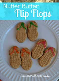 Another cute idea for a pool party or summer cookout!