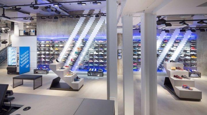 spor giyim mağaza dekorasyonu ürünleri