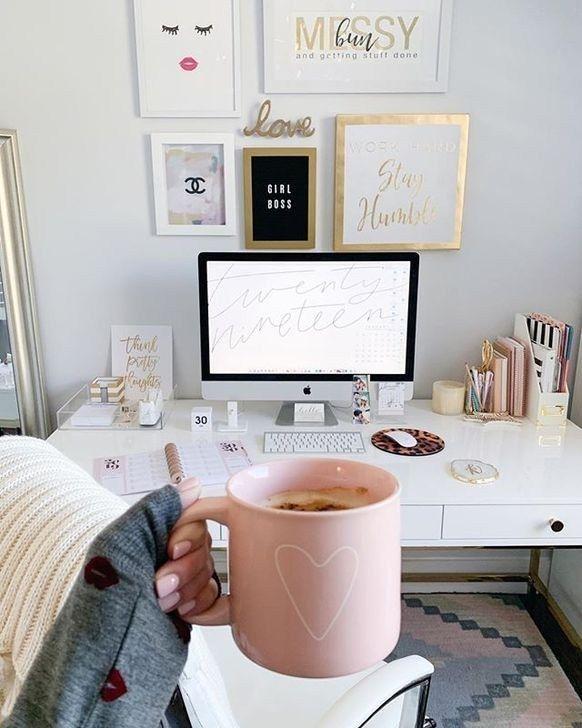 48 Brillante Deko Ideen Fur Das Home Office Home Office Decor