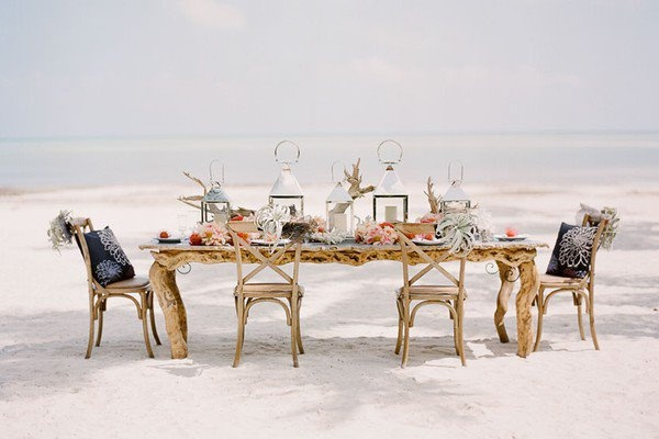 Elegant Drift Wood dinning table.
