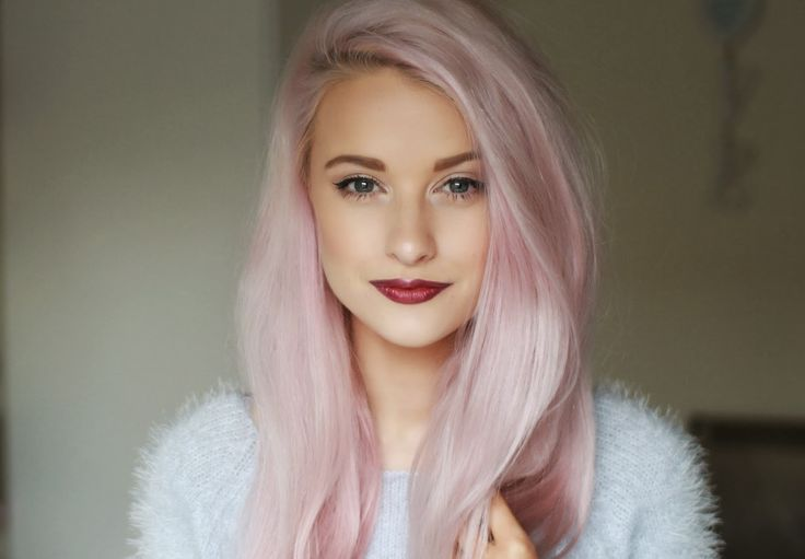 Make up & pretty lilac hair