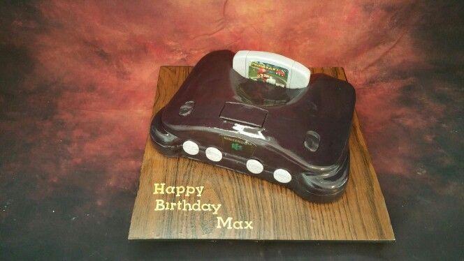 Nintendo 64 cake by Cara Mia Cake
