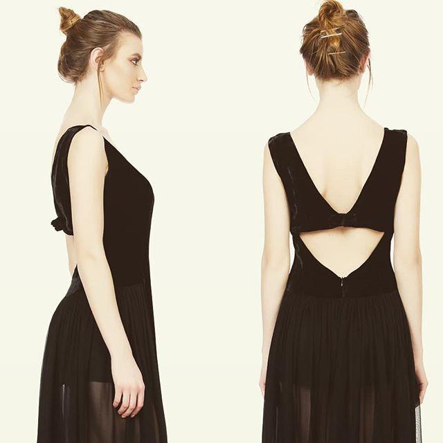 Silk velvet dress Andrea Tincu #andreatincu #silkvelvet #littleblackdress #lovejob #fashion #fashiondesigner #style #instalike #instagood
