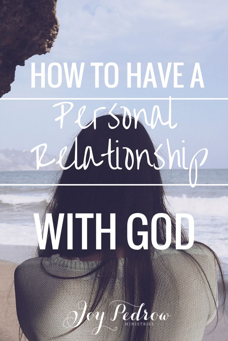 the importance of knowing god to a christian Knowing god: how can i experienced god personally  is it even possible to know god personally  a brief introduction to these important christian texts will.