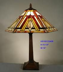 Tiffany Style Leadlight Stained Glass Lamp
