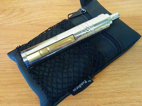 Black Silok pouch.