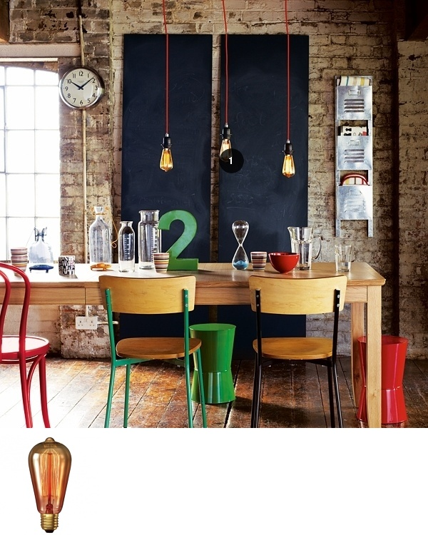 Curated by Katie Treggiden: Stunning carbon filament bulbs from Calex, perfect for added drama and a decorative effect with a retro feel.