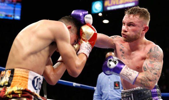 Carl Frampton to face Mexican Horacio Garcia in comeback bout in Belfast