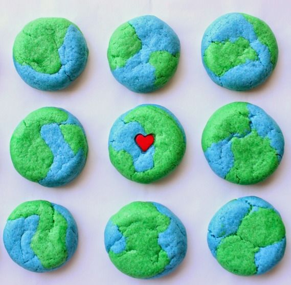how to make a layers of the earth cake