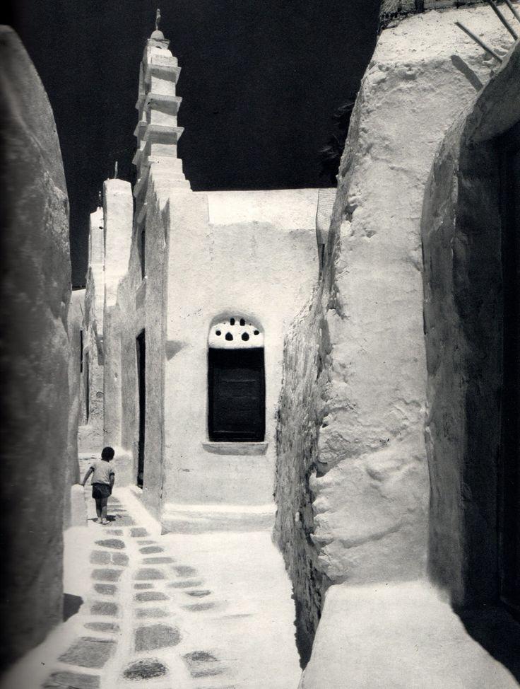 #Mykonos of 1973  By Yukio Futagawa!