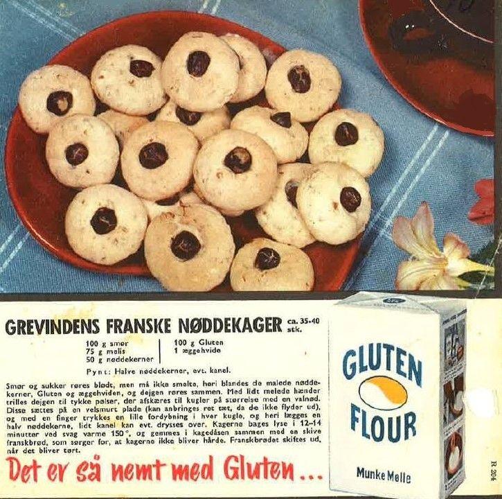 Grevindens Franske Nøddekager ( ca. 35-40 stk.)...