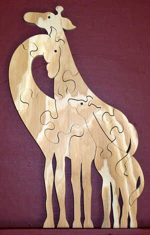 Scroll Saw Wood Puzzle Patterns - WoodWorking Projects & Plans