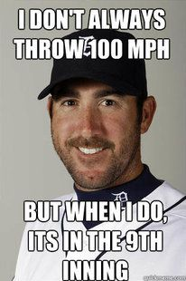 Justin Verlander, starting pitcher for the Detroit Tigers won the AL MVP and Cy Young award in 2011... Great pitcher :)